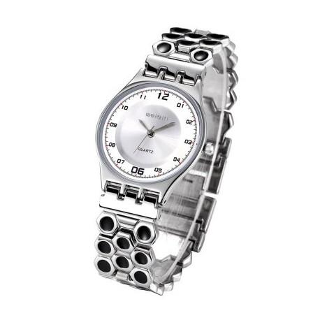Weiqin 2704 Rhinestone Lady Japan Quartz Chain Watch