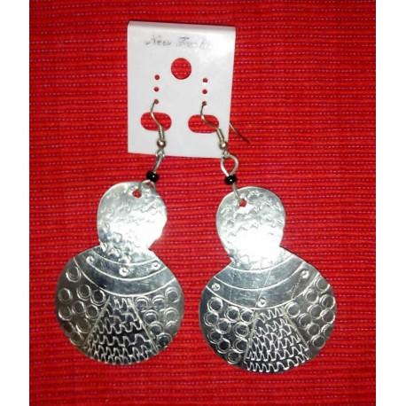 Tortoise shape metal Earings