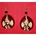 Circle-shaped Earing