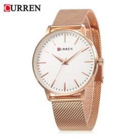 CURREN 9021 Blanche Ladies Stainless Steel Quartz Watch