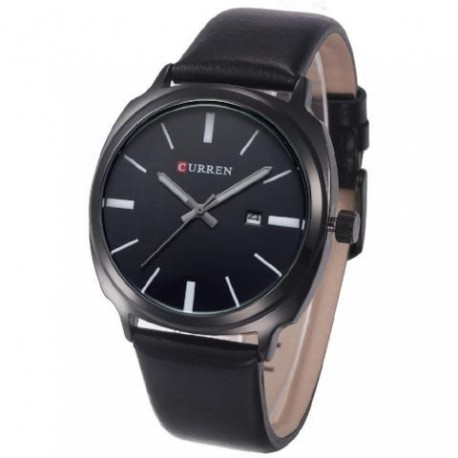 CURREN Men's Quartz Watch, Rounded Square with Date Function - whk000330
