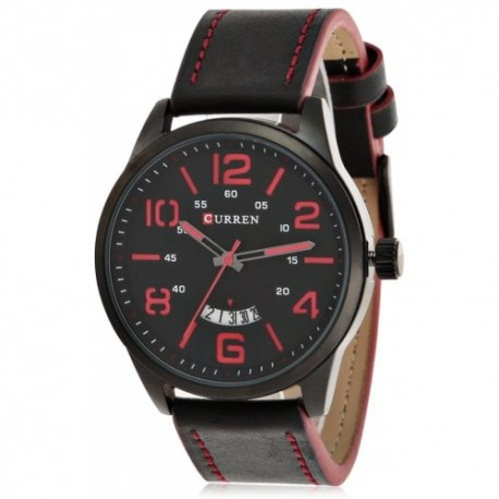 CURREN 8236A Casual Rolling Date Screen Men Quartz Watch - whk000325