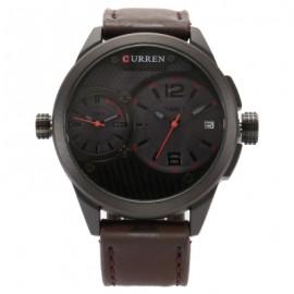 CURREN Men's Dual Time Quartz Watch - whk000328