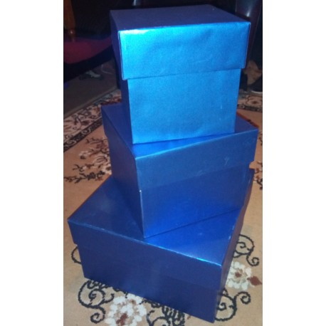 "Strong Carboard Gift Box - 14"" X 14"" X 8"""