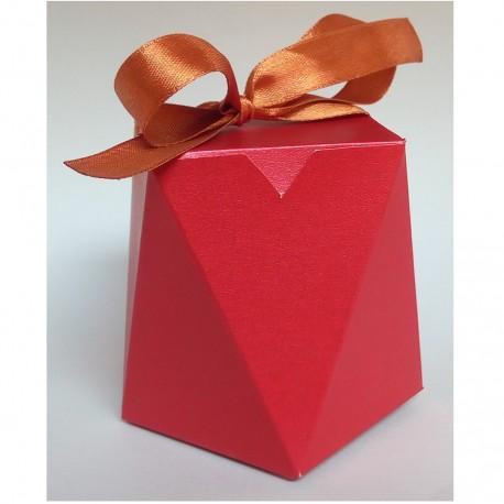 Paper Gift Box - Haxagon type