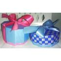 Custom Decagon Carboard Gift Box