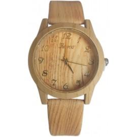 Geneva Wooden-style Ladies Wrist Watch