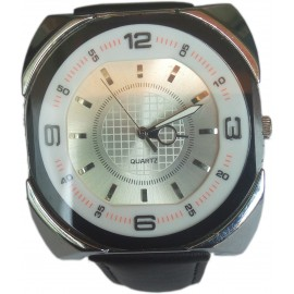 Men's Wrist Watch with Rounded Corners