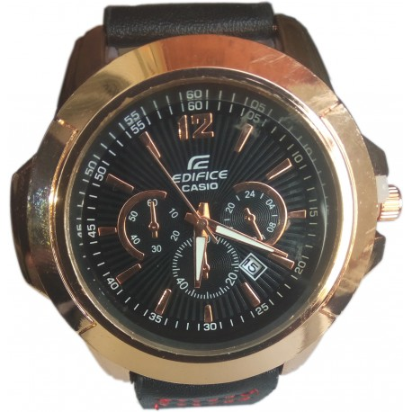 Edifice Casio Men's Watch with Date Display Function