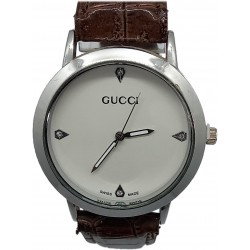Brown Leather Men's Watch