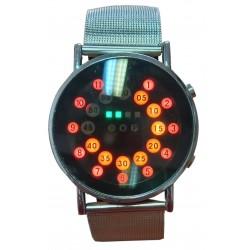 Digital metal Men's Watch