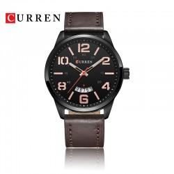CURREN 8236A Casual Rolling Date Screen Men Quartz Watch